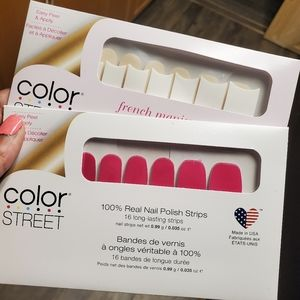 Colorstreet bundle of 2